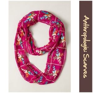 """Anthro """"Checkered Liefde Infinity Scarf"""" by Raj"""